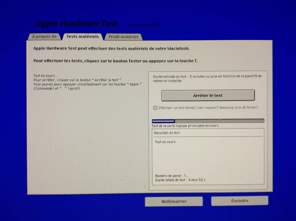 Prueba tu Mac con Apple Hardware Test / Apple Diagnostics 4