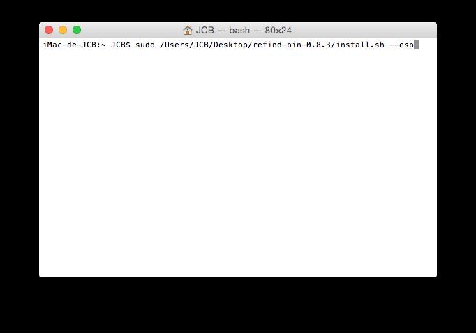 Cómo hacer un arranque dual Yosemite Linux 4