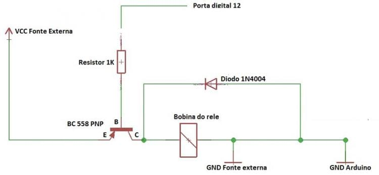 Arduino Uno - Clase 11 - Disparando una carga con el uso de un relé - parte 2 15