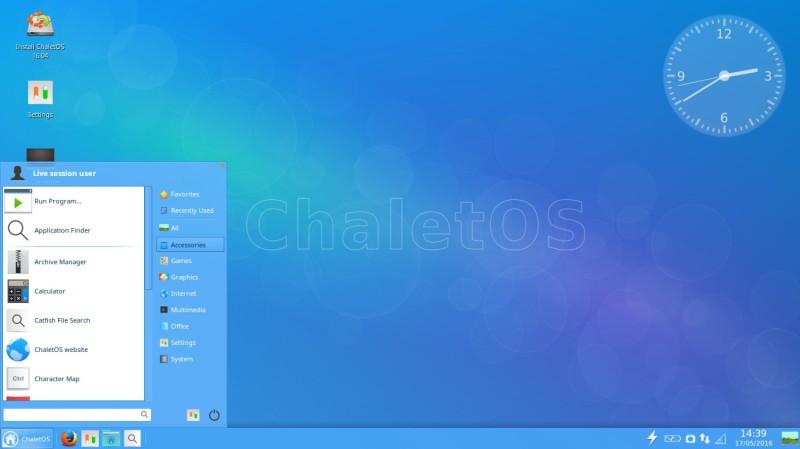 ChaletEs una distribución de Linux a probar 2
