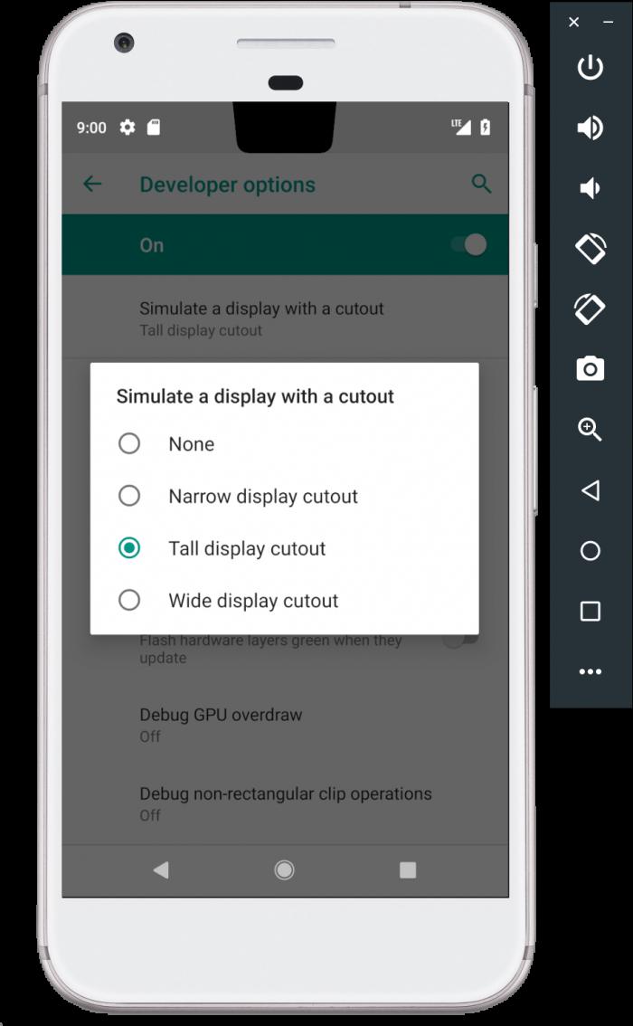 Novedades en Android Pie Developer Preview 4