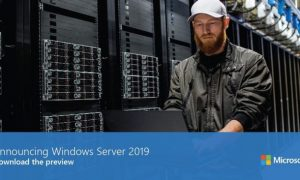 Microsoft lanza la vista previa de Windows Server 2019
