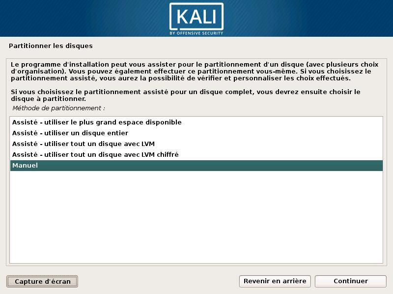 Cómo colocar Kali Linux en una llave USB o DVD 13
