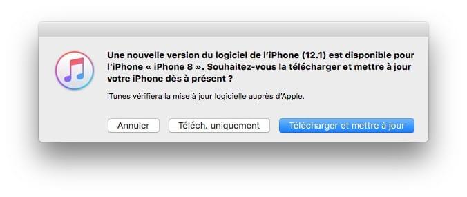 iOS 12.1 : actualización para iPhone, iPad, iPod (IPSW) 3