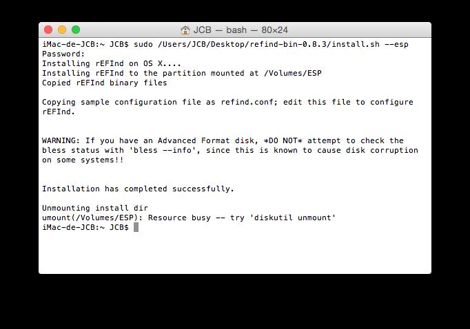 Cómo hacer un arranque dual Yosemite Linux 5