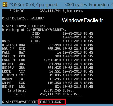 Windows 8: Juegos de DOS 20