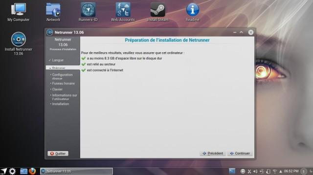 NetRunner 13.06, instalación 3
