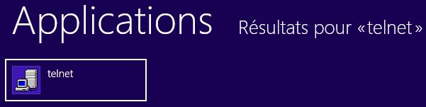 Instalar el cliente Telnet en Windows 8 y 8.1 7