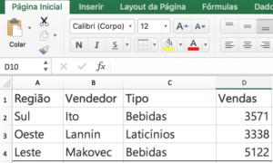 Utilización de la fórmula de suma en Microsoft Excel