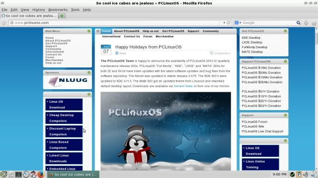PCLinuxOS 2013 12 4