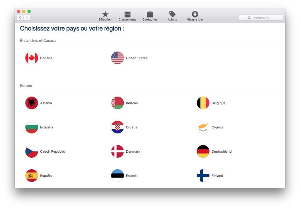 Cambia el país de tu App Store con un Mac o iPhone 2