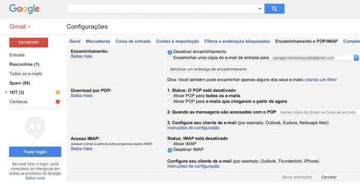 Reenvío o redireccionamiento de varios mensajes de correo electrónico en Gmail