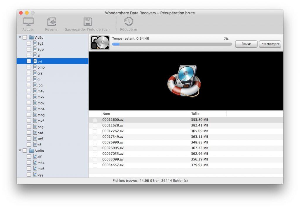 Recuperación de datos borrados en Mac OS Sierra (10.12) 6