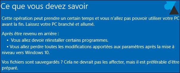Cancelar la actualización de Windows 10 y volver a Windows 7 6
