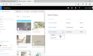 Por fin: OneDrive permite restaurar versiones anteriores de cualquier archivo.