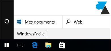 Windows 10: eliminar la barra de búsqueda 6