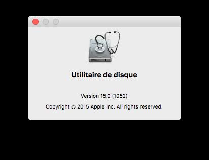 Utilidad de disco El Capitan (Mac OS X 10.11) 1