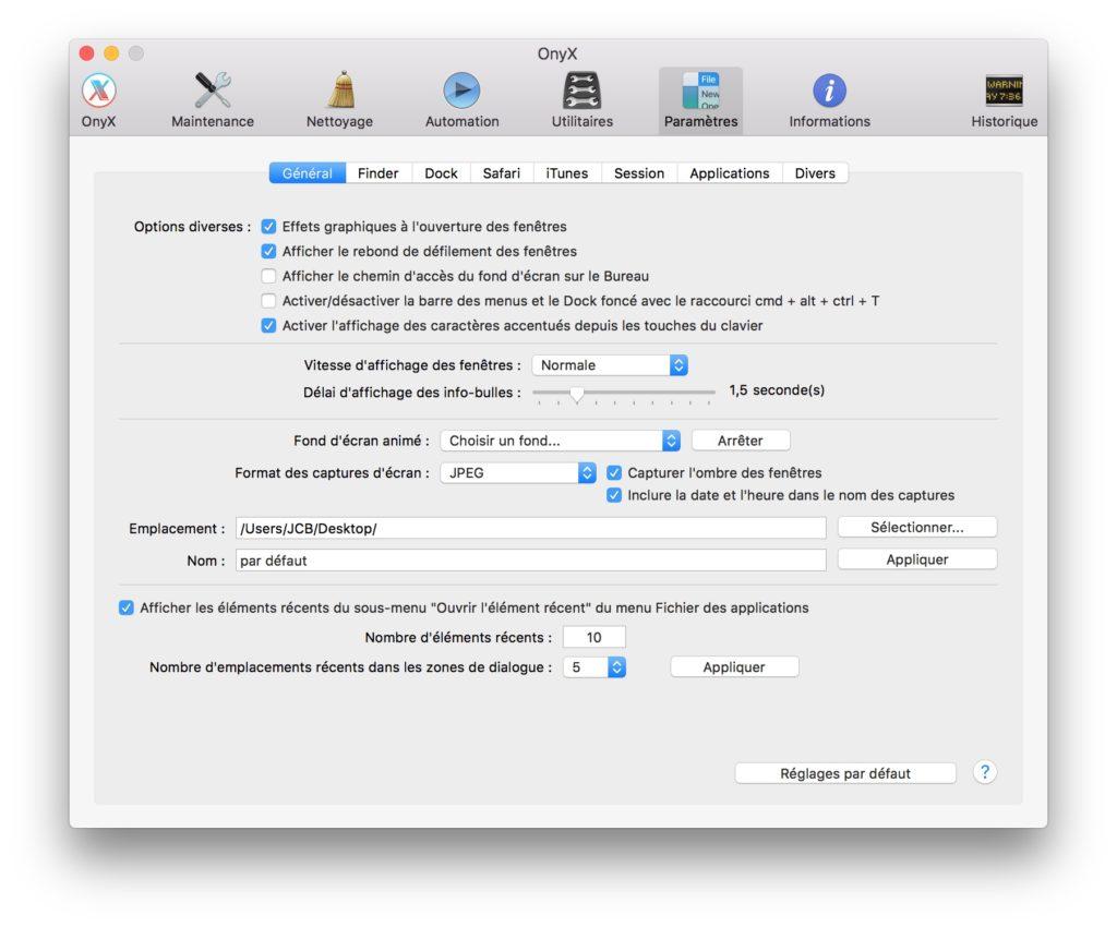 Captura de pantalla en Mac: cambiar el formato de imagen predeterminado (JPG, GIF, PDF, PNG, TIFF) 2