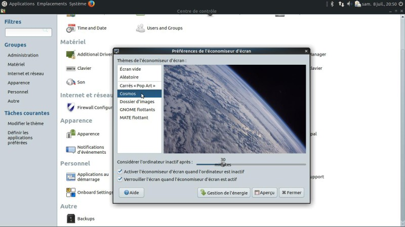 Ubuntu Mate - Cambiar la apariencia 11