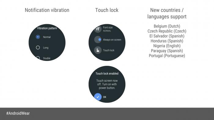 Google presenta los smartwatches que recibirán Android Wear Oreo 2