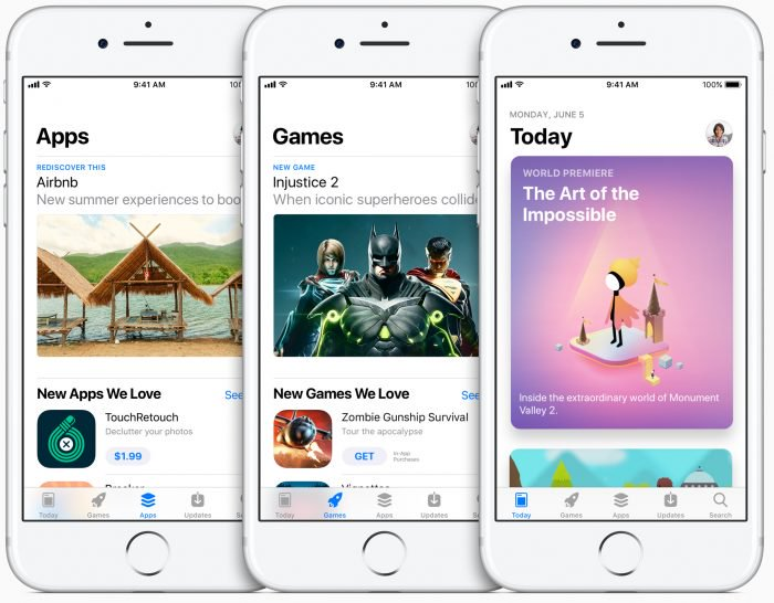 Apple lanza una versión de prueba gratuita de aplicaciones de pago en el App Store