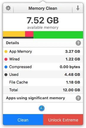 Purga el carnero de Mac OS X El Capitan (10.11) a Lion (10.7) 4