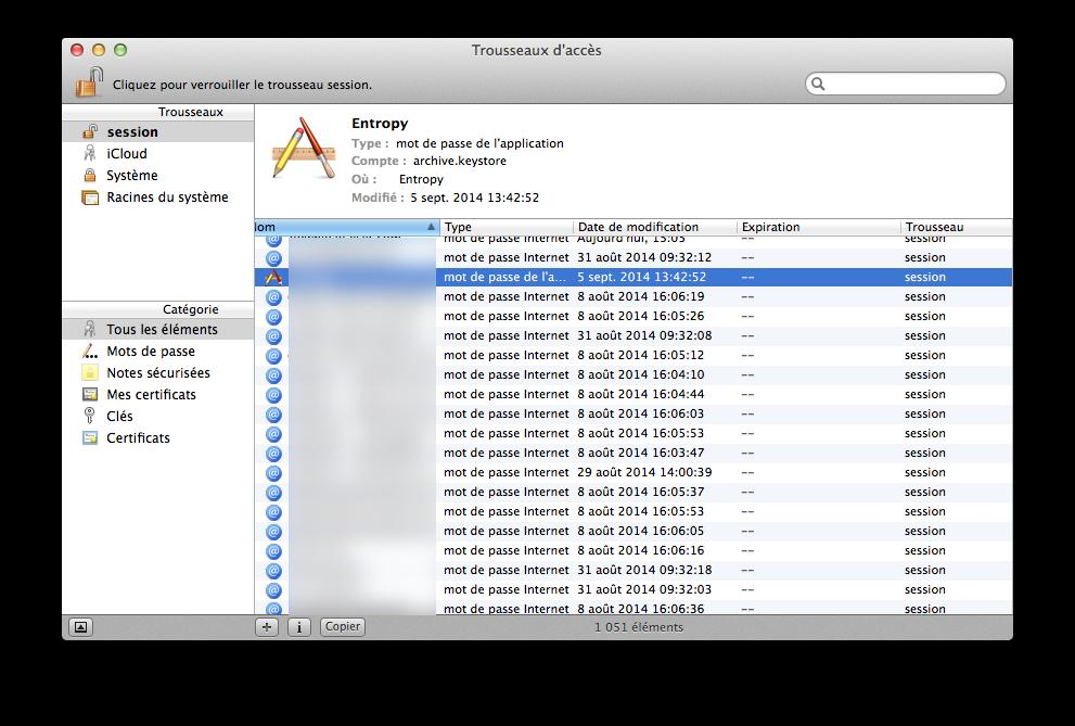 Llavero, Kits de acceso: Gestiona tus contraseñas de Mac OS X e iOS 3