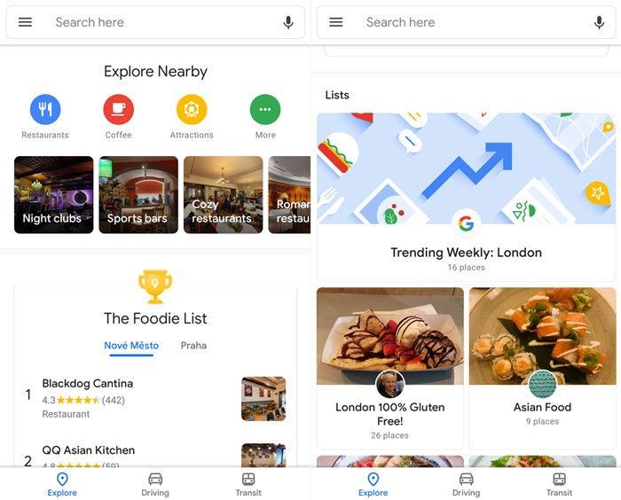 Google Maps puede estar al lado para recibir el nuevo Material Design 2