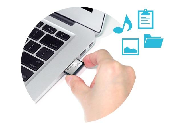 Almacenamiento en el MacBook: aumenta la capacidad de 64 a 256 GB con JetDrive Lite 2