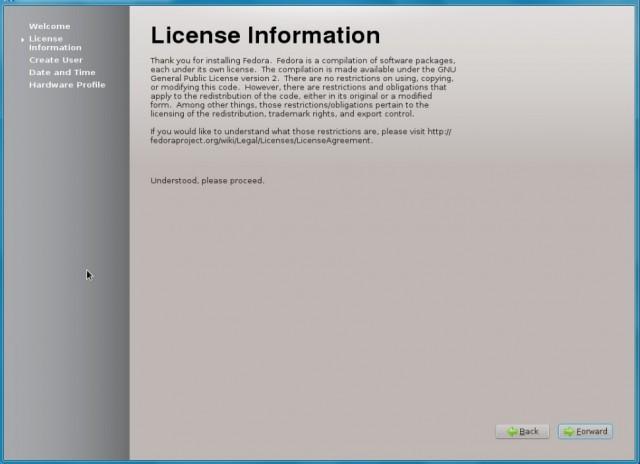 Fedora 17 KDE, instalación en un disco duro vacío 12