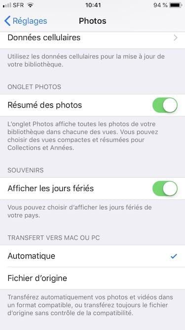Toma fotos en JPEG en iPhone en lugar de en HEIF 3