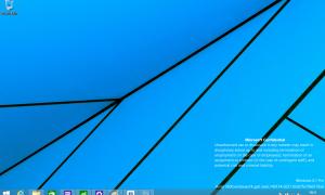 La versión interna de Windows 8.1 Update 1 se filtra en Internet antes de su lanzamiento