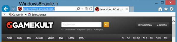 Internet Explorer 10: cambiar su agente de usuario 2