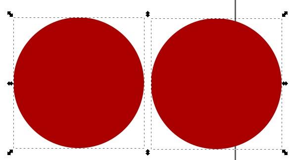 Cómo dibujar una pelota de Navidad con Inkscape 5