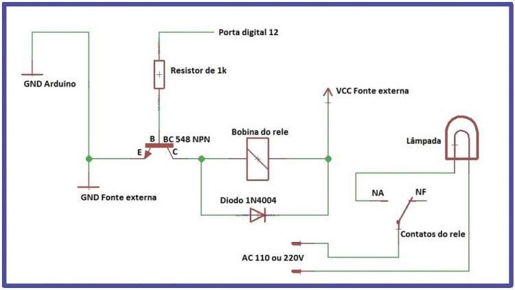 Arduino Uno - Clase 11 - Disparando una carga con el uso de un relé - parte 2 7