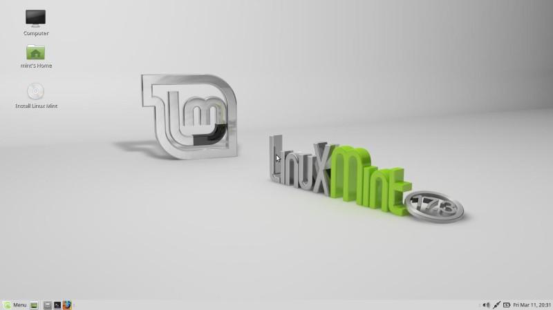 Uso de Linux Mint Mate 1
