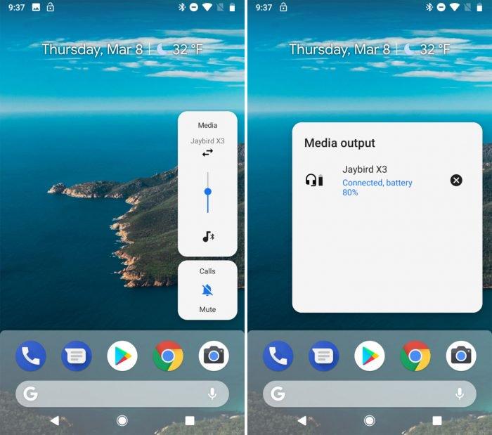 La pequeña noticia en el primer avance de Android Pie 8