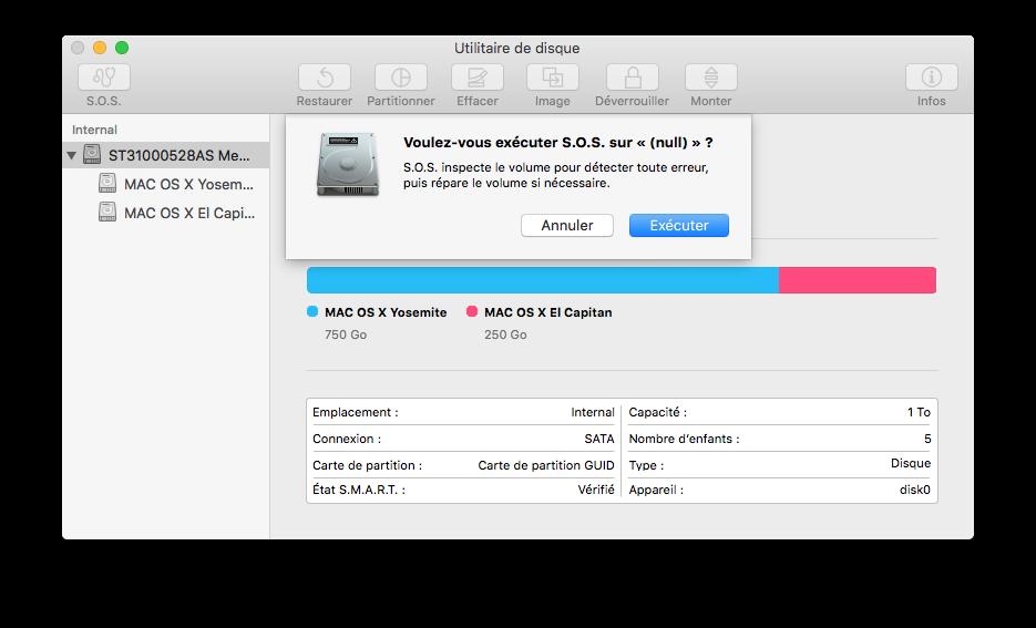Utilidad de disco El Capitan (Mac OS X 10.11) 5