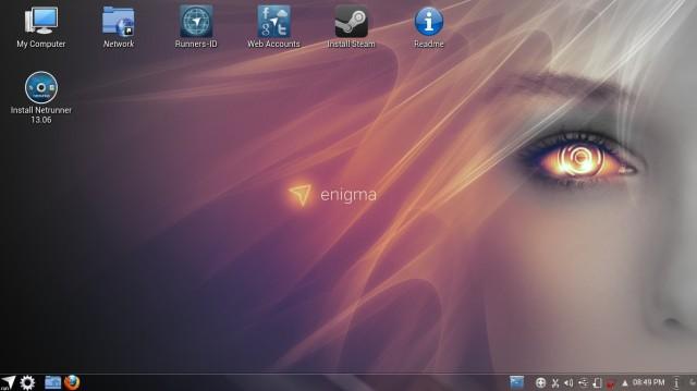 NetRunner 13.06, instalación 1