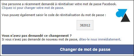 Cambiar la contraseña de Facebook 7