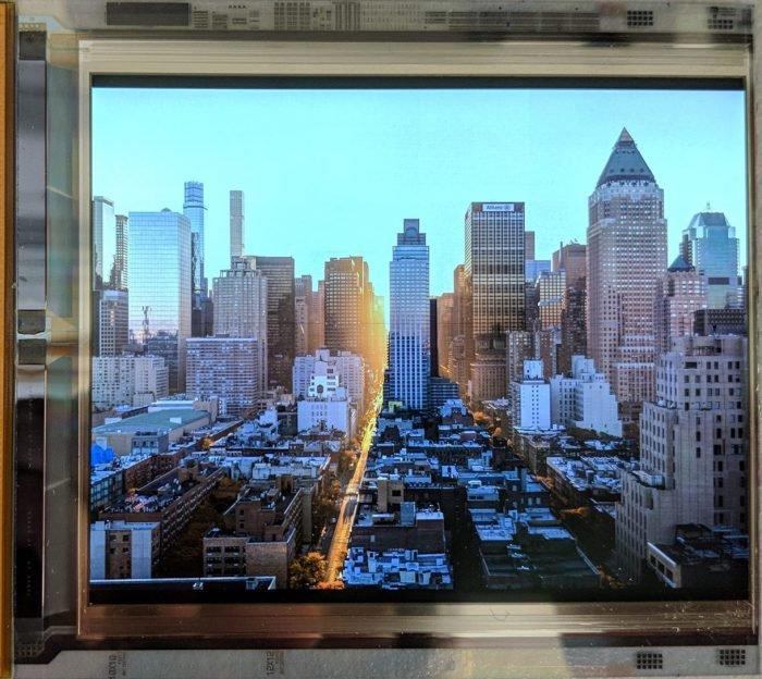 Google y LG crean una pantalla OLED con una densidad de registro de 1.443 ppi