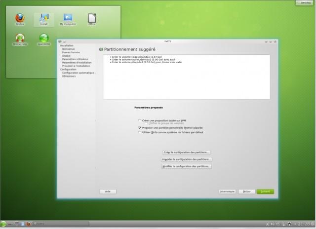 Instalación de OpenSuse 12.2 en un disco duro vacío 4