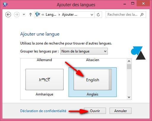 Cambio del idioma del teclado en Windows 5