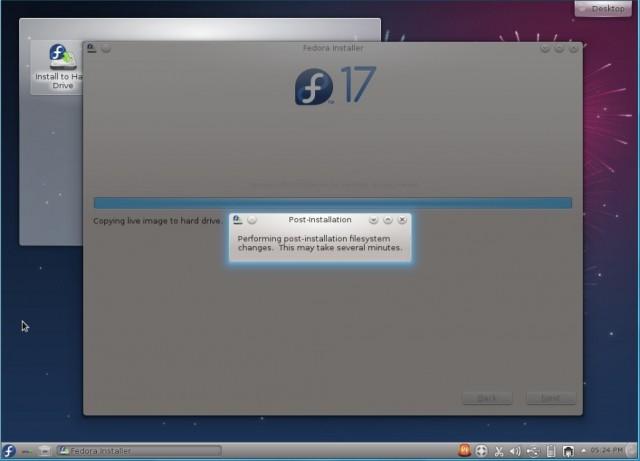 Fedora 17 KDE, instalación en un disco duro vacío 9