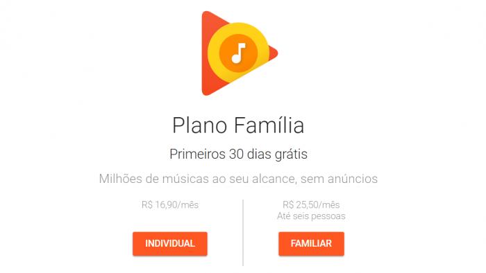 Google Play Music aumenta los precios de las suscripciones individuales y familiares 1