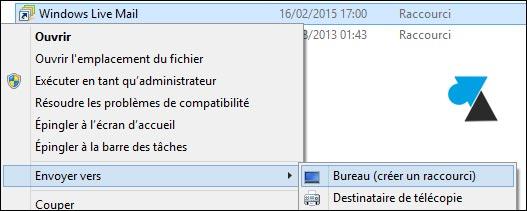 Adición de accesos directos de programa en el escritorio de Windows 8 y 8.1 3