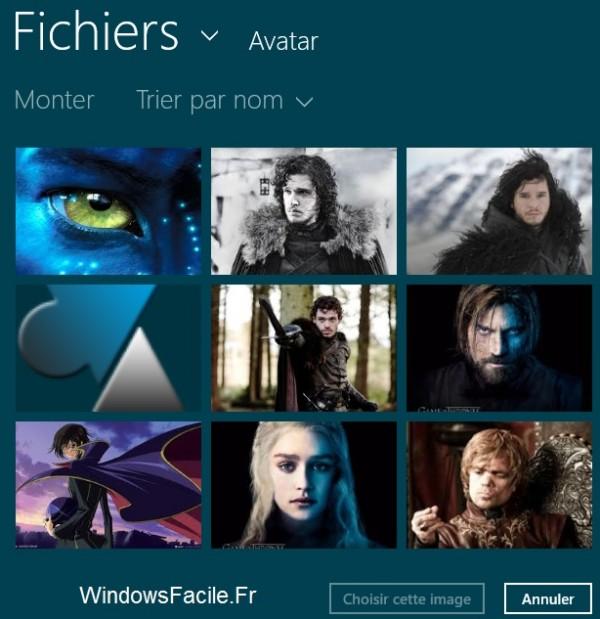Cambiar el avatar de la cuenta de Windows 8 / RT 5