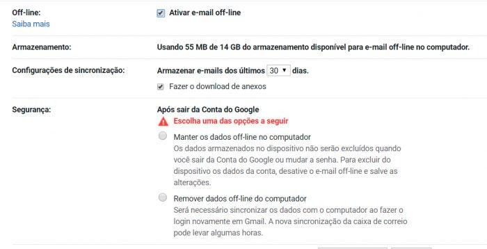 Google eliminará la aplicación Gmail sin conexión para Chrome 2