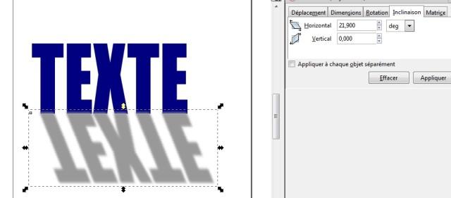 Inkscape, de la sombra al texto 5