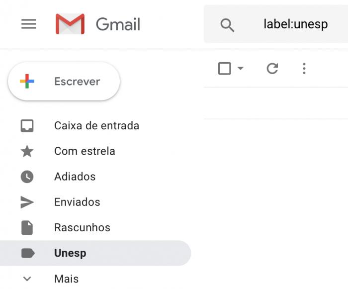 Creación de carpetas y marcadores en Gmail para organizar los mensajes de correo electrónico 1